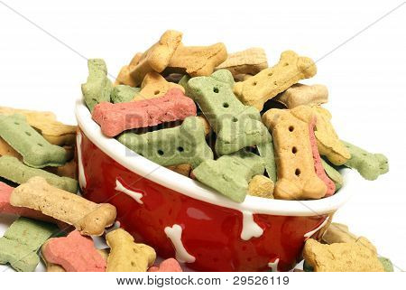 Ovreflowing Dog Treats