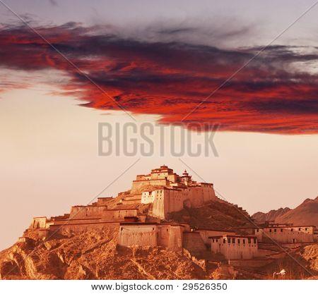 tibetan monastery, Tibet