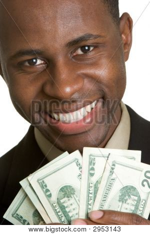 Man Holding Cash