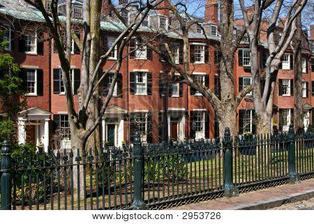 Boston Brownstones