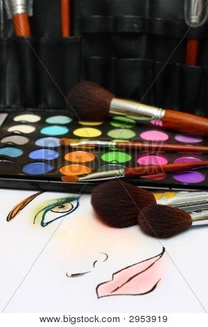 Make-up schets
