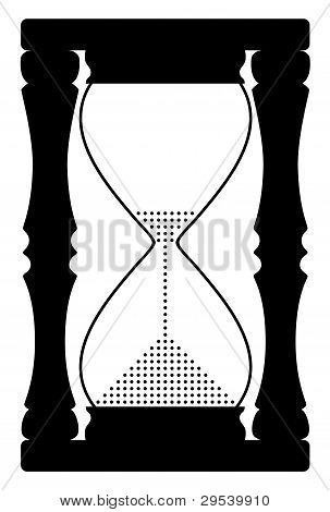 Vector Abstract Hourglass Symbol