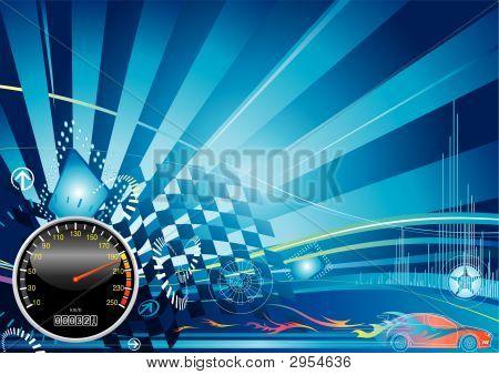 Auto Racing-Konzept