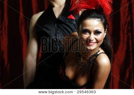 couple dancer moulin rouge