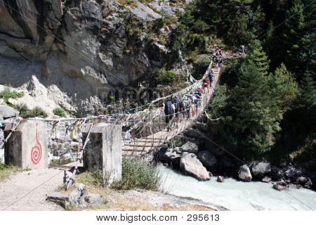 Phunki Tenga Bridge - Nepal