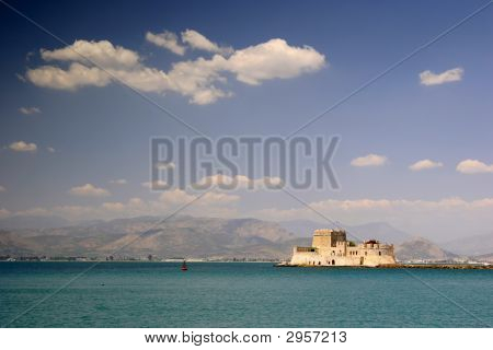 Nafplion Harbour Fort, Greece