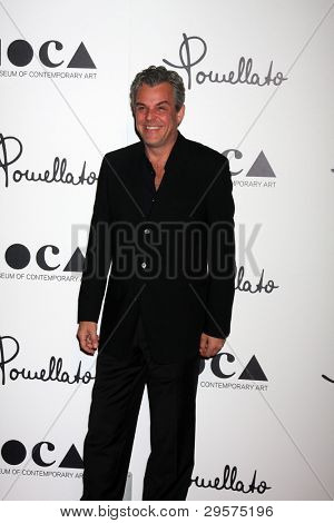 LOS ANGELES - JAN 30:  Danny Huston arrives at Pomellato Boutique Opening at Pomellato Boutique on January 30, 2012 in Beverly Hills, CA