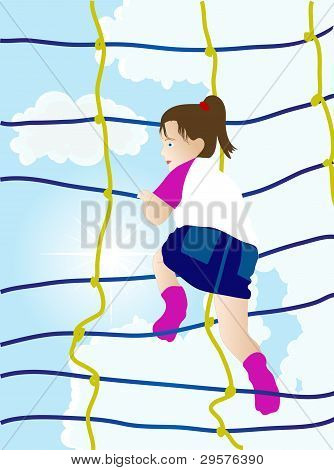 Girl On The Net