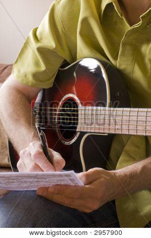 Composición en guitarra acústica