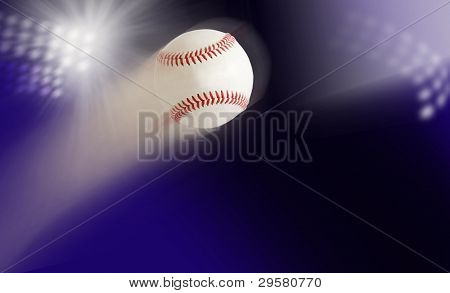 Baseball In Air
