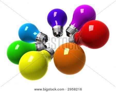 Rainbow Bulbs