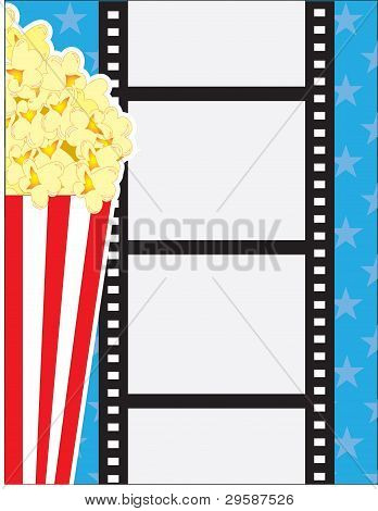 Filme e pipoca