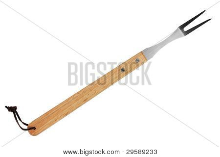 Fork With Wooden Handle