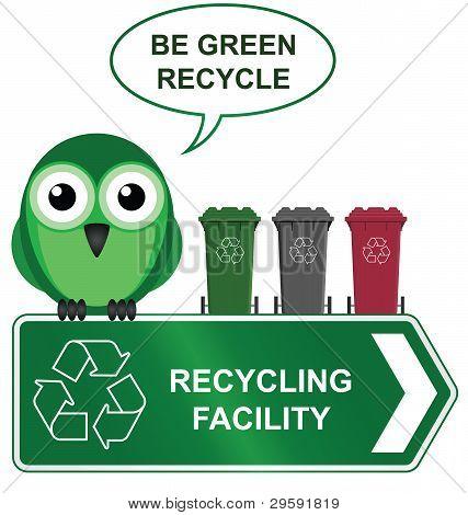 Bird recycling centre