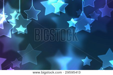 schönen Urlaub Sterne Hintergrund universal