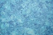 background of blue amate bark paper handmade created in Mexico poster