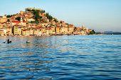 The Old Town Of Sibenik In Dalmatia, Croatia. poster