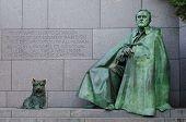 Постер, плакат: Франклин Делано Рузвельт Мемориал в Вашингтоне округ Колумбия