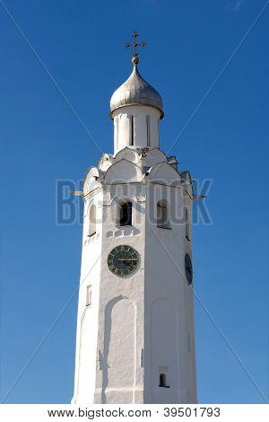 Clock Tower 17 Th C. (novgorod Kremlin, Russia)