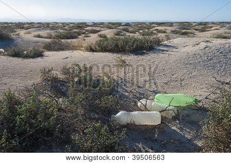 Rubbish On A Desert Island