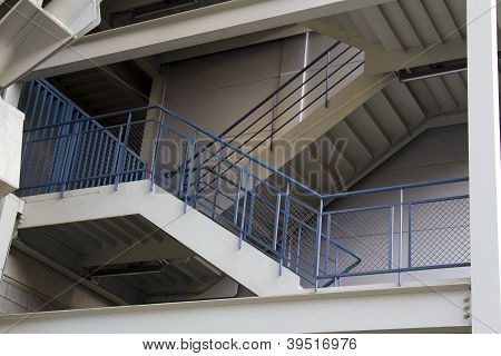 Emergency Exit Staircase