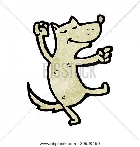 dancing dog cartoon