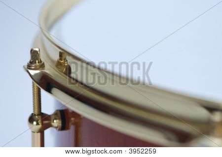 Close Up Of Snare Drum