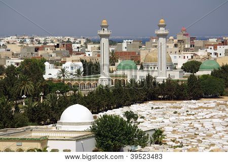 Mausoleum Of Bourguiba In Tunisia In Africa