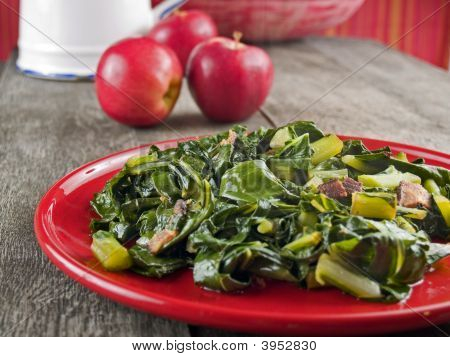 Collard Greens & Bacon
