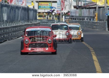 Minis Racing In Thailand
