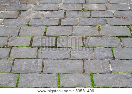 Cobblestone Road Pattern