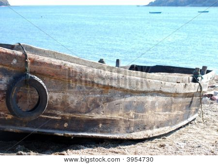 Abandoned Old Rotten Boat
