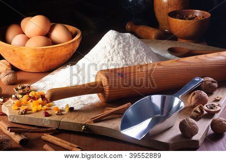Flour And Ingredients
