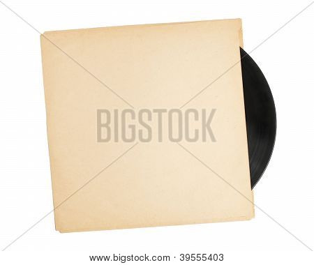 Vinyl Record in Sleeve