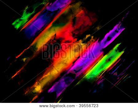 Abstract Colorful  Art  Background