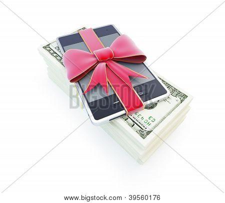 Dollar Phone Gift