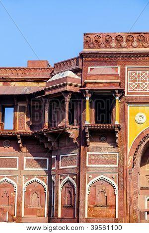 Jahangiri Mahal In Agra Red Fort