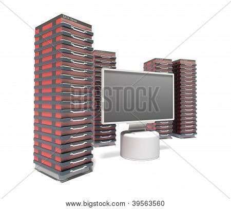 Hosting Server Farm and monitor