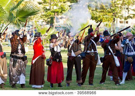 Historical Military Reenacting