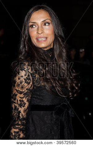 NEW YORK, NY - NOVEMBER 26: Actress Famke Janssen attends the IFP's 22nd Annual Gotham Independent Film Awards at Cipriani Wall Street on November 26, 2012 in New York City.