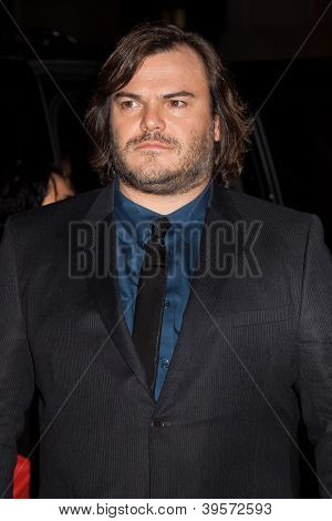 NEW YORK, NY - NOVEMBER 26: Actor Jack Black attends the IFP's 22nd Annual Gotham Independent Film Awards at Cipriani Wall Street on November 26, 2012 in New York City.
