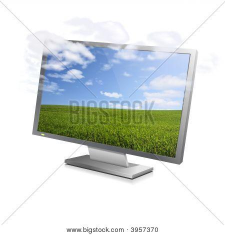 Cloudy Screen