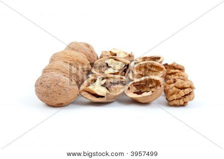 Walnuts (Whole And Cracked), Nutshells, Kernels