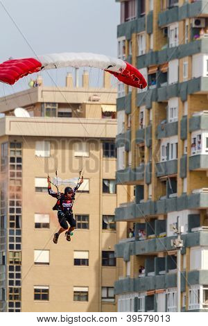 Parachutist Of The X-treme Flight Team