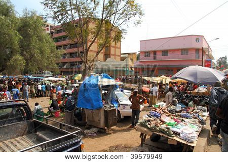 African Market - Arusha, Tanzania