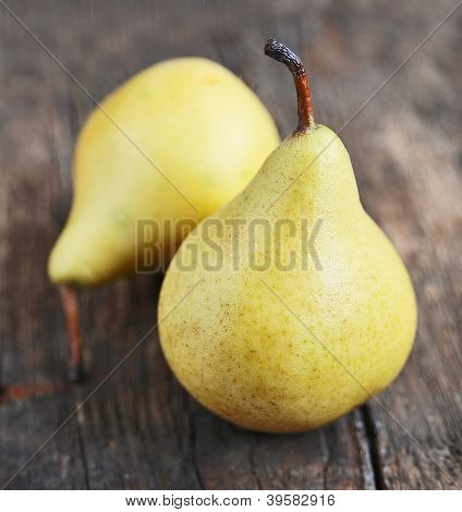 Pears Close Up