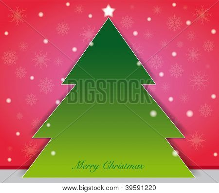 Christmastree card