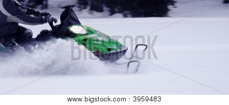 Snowmobile Powder Special