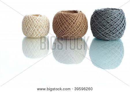 Three Balls Of Rope