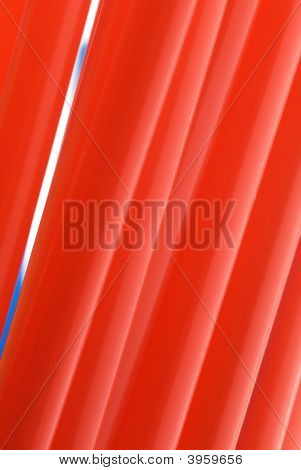 Red Straw Background